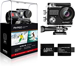 AKASO Brave 4 4K 20MP WiFi Action Camera Ultra HD with...