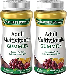 Nature's Bounty Your Life Multi Adult Gummies, 75-Count (Pack of 2)