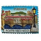 Firenze Italia Europa World Resina 3D fuerte imán de nevera recuerdo turístico regalo chino imán hecho a mano artesanía creativa hogar y cocina decoración magnética (Style3)