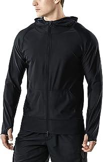 (テスラ)TESLA メンズ ラッシュガード パーカー 長袖 フルジップ [UVカット UPF50+・吸汗速乾] オーバーウェア (1サイズ ダウン) MSZ