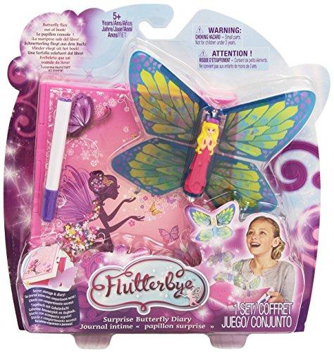 Fluteerbye Vliegenfee, vlinder, voor het openen van boek en vliegen, verschillende modellen