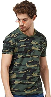 Wear Your Opinion WYO Men's Tshirt with Camouflage Style |Half Sleeve Tshirt |All Over Print |Military Army Stylist Tshirt