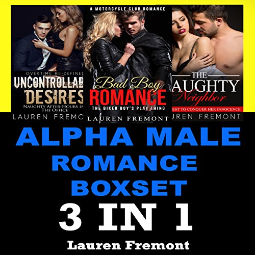 Alpha Male Romance Boxset audiobook cover art