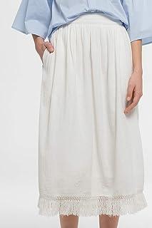 Rina Casual Mid Calf Skirt for Women
