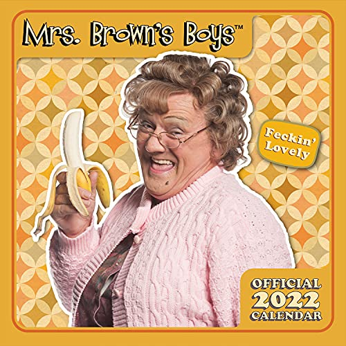 Official Mrs Brown's Boys 2022 Calendar – Month To View Square Wall Calendar