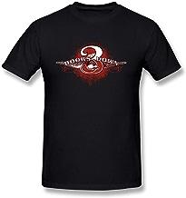 JRZJ Men's 3 Doors Down Art Design Logo T Shirt Black