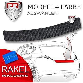 inkl ab Bj. 2017 Facelift Autofolie RAKEL Lackschutz-folie Transparent PR-Folia Ladekantenschutz passend f/ür ASX Kratzschutz