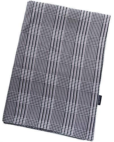 CAMEL PALMS 日本製 綿100% 掛布団カバー 片面抗菌防臭加工 シングル 150×210cm グレンチェック柄 グレイ