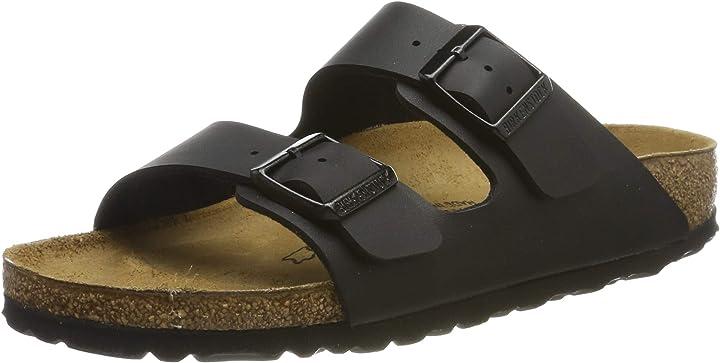 Birkenstock  arizona birko-flor, sandali a punta aperta unisex-adulto BK051793