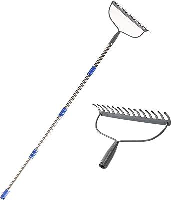 MIYA Bow Rake - Heavy Duty Garden Rake