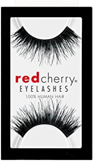 Red Cherry 100% Human Hair Eyelashes #102