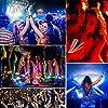 Vegena Knicklichter 200 Stück, Leuchtstäbe Armbänder Armreifen Glowstick Partylichter inkl. 200 x 2D-Verbinder, 4 x Kreisverbinder, 4 x 7-Loch-Verbinder Hochzeit Party Deko Set Zubehör #5