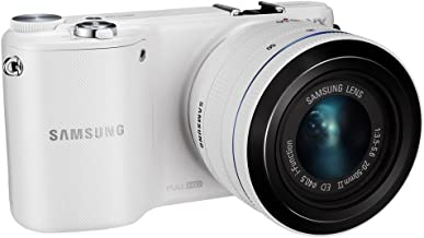 Samsung NX2000 20.3MP CMOS Smart WiFi Mirrorless Digital Camera with 20-50mm Lens and 3.7