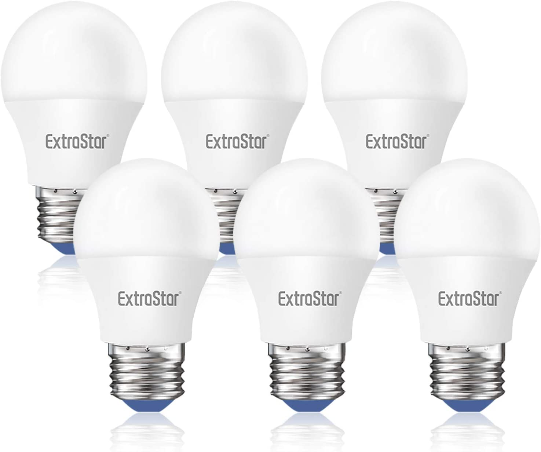 EXTRASTAR Bombilla LED G45 E27 6W