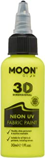Moon Glow - Pintura de Tejido neón UV - 30ml - Intenso Amarillo
