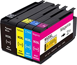 Jagute 953XL Cartuchos de Tinta Reemplazo para HP 953 XL Tinta, Compatiable con HP OfficeJet Pro 7740 8710 8720 8725 8728 8730 8740 7720 7730 8210 8218 8715 8718