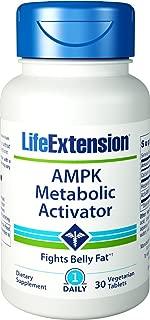 Life Extension AMPK Metabolic Activator, 30 Vegetarian Tablets (2 Pack)