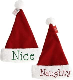 Best naughty and nice santa hats Reviews