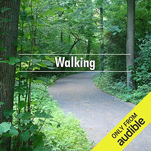 Walking                   By:                                                                                                                                 Henry David Thoreau                               Narrated by:                                                                                                                                 Deaver Brown                      Length: 1 hr and 28 mins     7 ratings     Overall 3.4