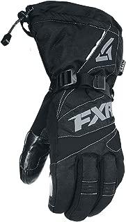 FXR Mens Fuel Glove 2019 (Black/Charcoal, X-Small)