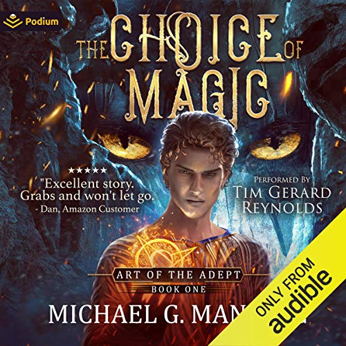 The Choice of Magic audiobook cover art