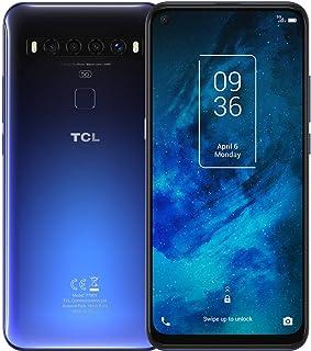 TCL(ティーシーエル) TCL-10 5G Chrome Blue「T790H2ALCJP11」6.53型 Snapdragon 765G メモリ/ストレージ:6GB/128GB nanoSIMx1 ドコモ/au/ソフトバンク対応 SIMフリ...