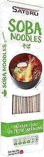Satoru Pasta de soba noodles (trigo sarrraceno), 300 g