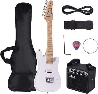 Festnight Muslady - Kit de guitarra eléctrica para niños de 28 pulgadas, con mini amplificador