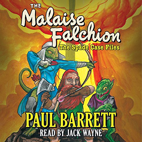 Malaise Falchion audiobook cover art