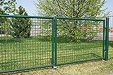 FORMAT Puerta para jardín (2 hojas, 3000 x 800 cm), color verde