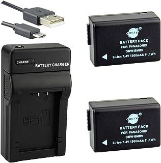 DSTE DMW-BMB9 Li-Ion Batería (2 Paquetes) Traje y Cargador Micro USB para Panasonic Lumix DMC-FZ40 DMC-FZ45 DMC-FZ47 DMC-FZ48 DMC-FZ60 DMC-FZ62 DMC-FZ70 DMC-FZ72 DMC-FZ80 DMC-FZ100 DMC-FZ150