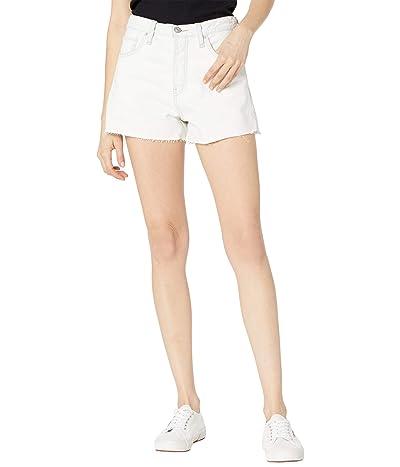 Hudson Jeans Lori High-Rise Cutoffs Shorts in Soft Ecru Women