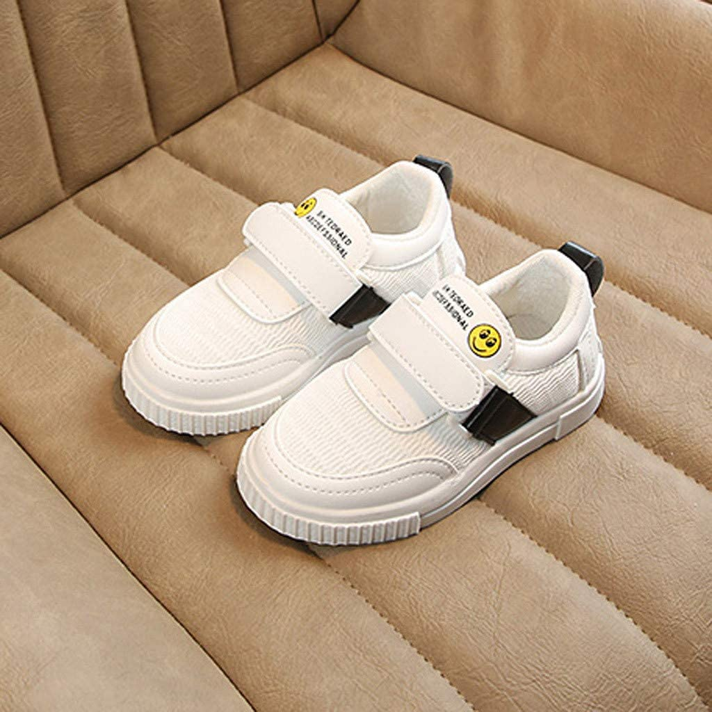 Toddler Infant Kids Baby Boys Girls Cartoon Sport Mesh White Shoes Sneakers