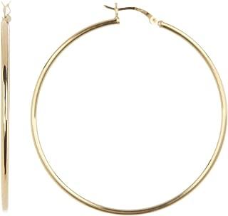 Best gold vermeil hoops Reviews