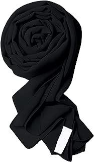crepe chiffon scarf