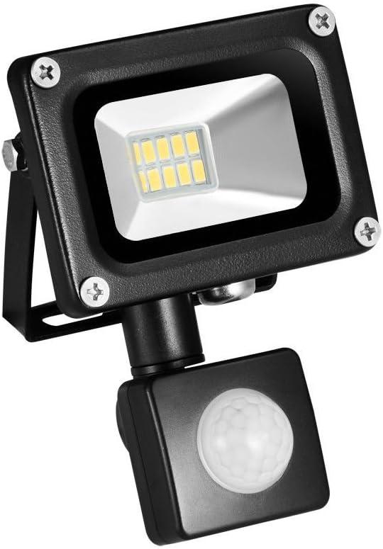 Induction LED Flood Light 10W Lights Out 5 popular Motion Sensor online shopping