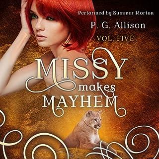 Missy Makes Mayhem audiobook cover art