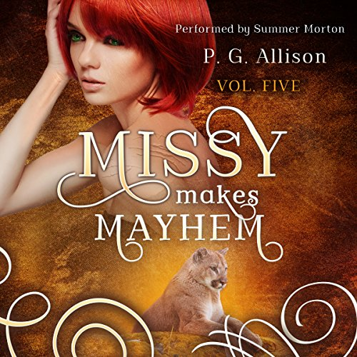 Missy Makes Mayhem audiobook cover art