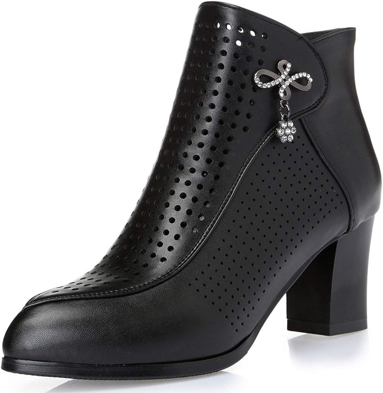 Frauen Martin stiefel Leder High Heels Chelsea Stiefel Stiefel Stiefel Atmungsaktive Sandalen Professionel Kleid Mode Schuhe  f203b2