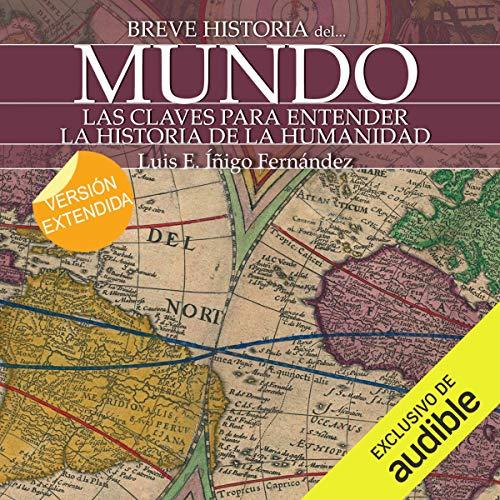 Diseño de la portada del título Breve historia del mundo
