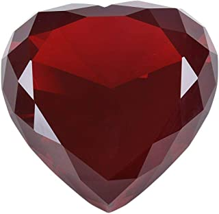 Best red glass heart paperweight Reviews