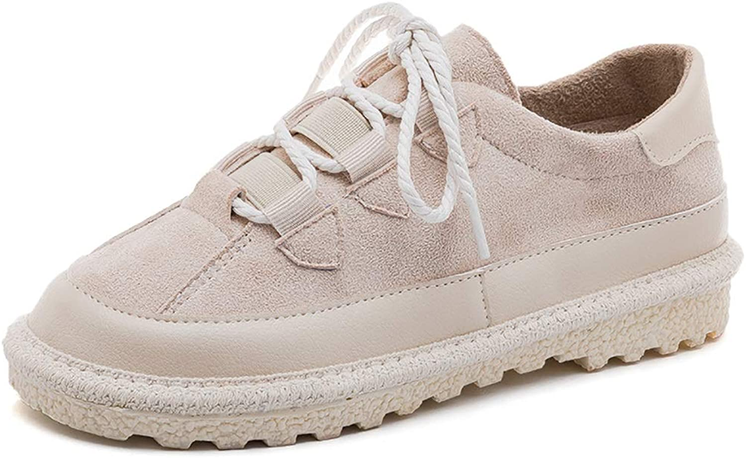 Small White shoes Spring Korean Version of The Wild Casual shoes Flat shoes Women (color   B, Size   36)