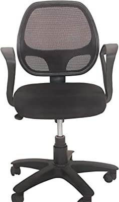 Lifecare Chairs Umbrella Base Office Chair (Black) Model No-100