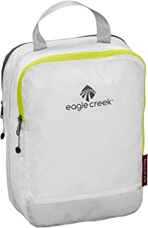 Eagle Creek Pack-It Specter Clean/Dirty Split Half Cube Packing Organizer, White/Strobe (S)