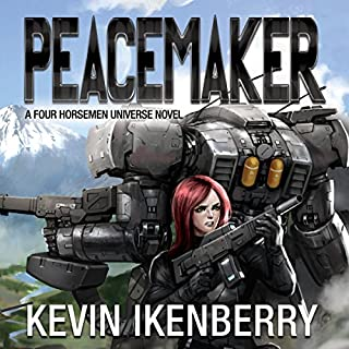 Peacemaker     The Revelations Cycle, Book 6              Written by:                                                                                                                                 Kevin Ikenberry                               Narrated by:                                                                                                                                 Anne James                      Length: 11 hrs and 19 mins     5 ratings     Overall 4.4