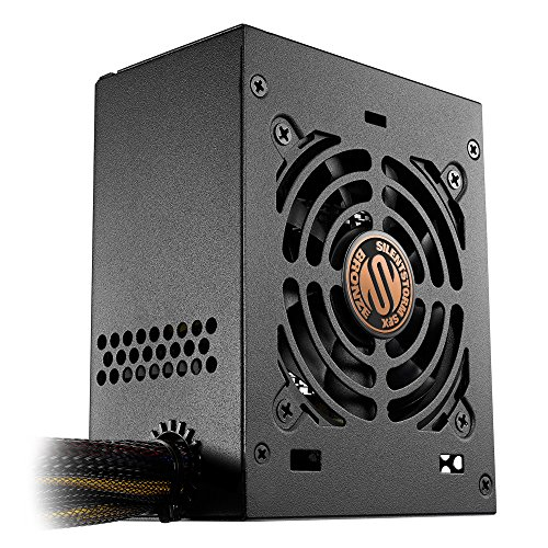 SilentStorm SFX 450W, certificato 80 Plus Bronze