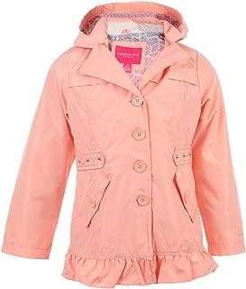 London Fog Girls' Lightweight Trench Coat