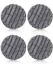 GENERISCH 4個電動回転モップ 替え 回転モップパッド モップパッド 回転モップ 替え モップパッド 4枚入り フローリング掃除 床掃除 替えモップ 替えキャッチモップ(适用拖把头:V7 V8 V10 V11)