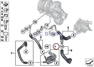 BMW Mini Genuine Turbocharger Auxiliary Water Pump Coop.S JCW Cooper S Coop.S JCW Cooper S Coop.SX JCW Cooper S Cooper SX Coop.SX JCW Cooper S Cooper SX
