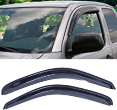 Shade Deflector Window Visors,HAIHUA for 1995-2004 Toyota Tacoma Standard (Regular) & Extended (Access) Cab Pickup Only Rain Sun Guard